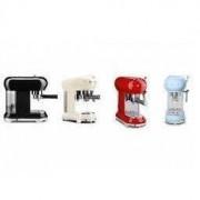 Smeg 50's Style Retro Espresso Coffee Machine Free Delivery - All