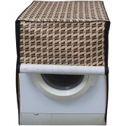 Dreamcare Printed Coloured Waterproof & Dustproof Washing Machine Cover For Front Load Haier HW55-1010 5.5 kg