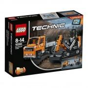 LEGO Technic 2 in 1, Echipaj pentru repararea drumurilor 42060