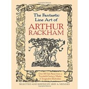 The Fantastic Line Art of Arthur Rackham, Paperback