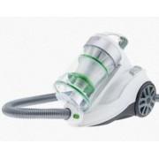 Aspirator fara sac H.Koenig AXO900 Powerful Vacuum Cleaner Triplu A+ HEPA filtru silentios toate suprafetele alb-verde