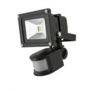 LED strålkastare WORK BLACK 10W 4500K med rörelsesensor