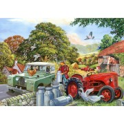 Puzzle The House of Puzzles - Bob & His Dog, 500 piese XXL (60646)