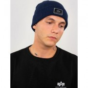 Alpha Industries X-Fit Beanie Blu unica taglia