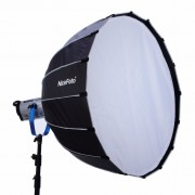 NiceFoto 120cm Professional Parabolic Softbox With Grid Quick Used For LED Video Light And Studio Flash Light - Softbox Profesional octogonal 120cm montura Bowens