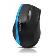 мишка CANYON CNR-MSO01N (Cable, Optical 800dpi,3 btn,USB), Black/Blue - CNR-MSO01NBL
