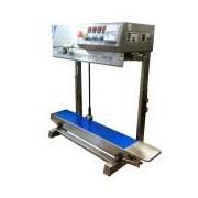 Socepi Termosaldatrice rotativa verticale con stampa a caldo per pacchi alti max 50cm e larghezza saldatura 10mm
