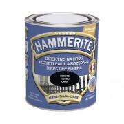 Email pentru metal Hammerite lucios, negru 0,75 l
