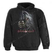 sweat-shirt avec capuche pour hommes - Ninja Assassin - SPIRAL - TR349800
