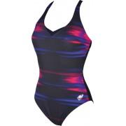 arena Kate Light Cross Back C-Cup Baddräkt Dam svart/flerfärgad DE 38 US 34 2018 Badkläder