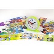 Miniland Развивающая игрушка Miniland Набор обучающий Часы Activity Clock