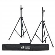 dB Technologies ES 503 Speaker Stand SK - 25TT Set 2 x Stativ & Bag