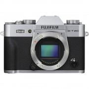 Fujifilm X-T20 - Solo Corpo - Argento - Manuale Ita - 2 Anni Di Garanzia In Italia