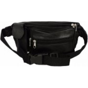 Elligator Elligator Unisex Black Travel Waist Bag Waist Bag(Black)