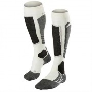Falke SK2 Women Knee-high Socks Offwhite Black