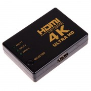 HDMI SWITCH elosztó 4K * 2K 1080P HDMI Video Audio jelosztó 3 bemenet 1 kimenet