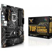 Asus TUF B360-PLUS GAMING - Moederbord - ATX - LGA1151 Socket - B360 - USB 3.1 Gen 1, USB 3.1 Gen 2 - Gigabit LAN