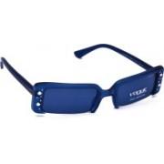 Vogue Rectangular Sunglasses(Blue)