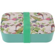 HomePlace bamboe eco lunchbox 19x13x6.5cm 900ml Vogel