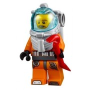LEGO City MiniFigure: Deep Sea Explorers - Deep Sea Diver (60095)