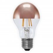 E27 4 W 926 LED half mirror bulb, copper
