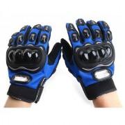 G-MTIN Full Finger Riding Gloves (XL Blue)