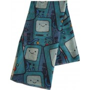 Adventure Time - Beemo fashion sjaal met all over print multicolours - Televisie cartoon merchandise