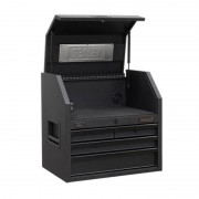 Sealey AP2704BE Topchest 4 Drawer 660mm with Soft Close Drawers & Power Strip