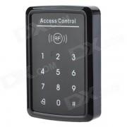 sensor tactil / lector de tarjetas de control de acceso EM sin contacto - negro + plata