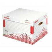 Archiváló konténer, újrahasznosított karton, felfelé nyíló, ESSELTE Speedbox, fehér (E623914)