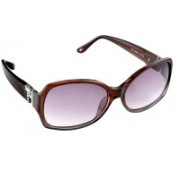 Tommy Hilfiger Rectangular Sunglasses(Violet)