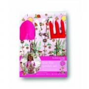 4 részes kertészkészlet lányoknak