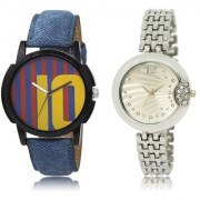 The Shopoholic Blue Maroon Silver Combo Latest Collection Fancy And Attractive Blue And Maroon And Silver Dial Analog Watch For Boys And Girls Mens Leather Watches