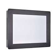 HUNSN 12.1 Inch Industrial Touch Panel PC,All in One Computer,4 Wires Resistive Touch Screen,Windows 7/10,Linux,Intel J1800,(Black), WD11,[3RS232/VGA/LAN/5USB2/1USB3/Audio],(8G RAM/512G SSD/1TB HDD)