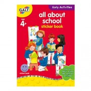 Galt - All about School - Carte Activitati cu Abtibilduri