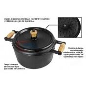 Panela de ferro pressão 9 litros