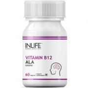 INLIFE Vitamin B12 Alpha lipoic acid (ALA) 60 Tablets For Cognitive Memory Health