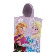 Frozen poncho handdoek met kap