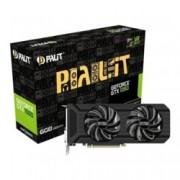 Видео карта Nvidia GeForce GTX 1060, 6GB, Palit GeForce GTX 1060 Dual, PCI-E 3.0, GDDR5, 192 bit, 3x Display Port, 1x HDMI, 1x DVI