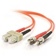 C2G SC-ST 50/125 OM2 Duplex Multimode PVC Fiber