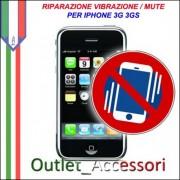 Riparazione Riparare Vibrazione Mute Silenzioso Vibracall Iphone 3g 3gs