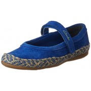 Clarks Girl's Blue Ballet Flat - 8.5 kids UK/India (26 EU)