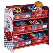 Disney Kids' Storage Unit Cars 63x43x60 cm Crimson WORL320011
