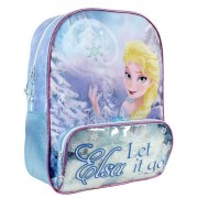 Ghiozdan scoala Disney Frozen Queen Elsa, 30x41x15 cm