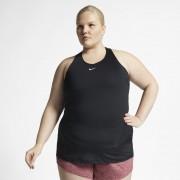 Nike Grande Taille - Débardeur en mesh sur toute la surface Pro pour Femme - Noir