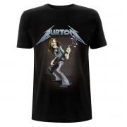 t-shirt metal uomo Metallica - Cliff Burton – Squindo Stack - NNM - RTMTLTSBSQU