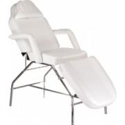 Pat scaun cosmetica masaj piele ecologica alb