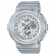 casio baby-g BGA-195-8A Reloj deportivo de resistencia al agua de 100 metros con banda de resina y caja - astilla
