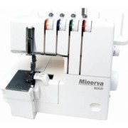 Masina de surfilat MINERVA M2020, 16 programe, 1300 imp/min, 105W, Alb
