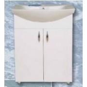 Libra 650 szekrény + Cersanit mosdó